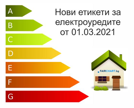 Въвеждат се нови етикети за Енергийна ефективност на уредите